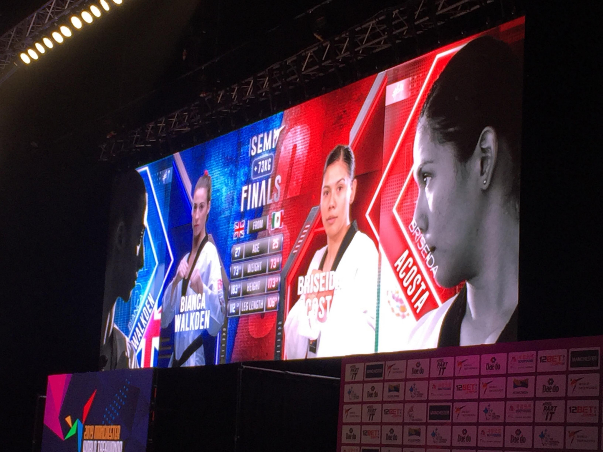 The atmosphere was also intensified by the dramatic build-up to semi-finals and finals ©ITG