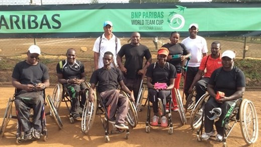 Kenyan pioneer to receive Wheelchair Tennis Coach of the Year award