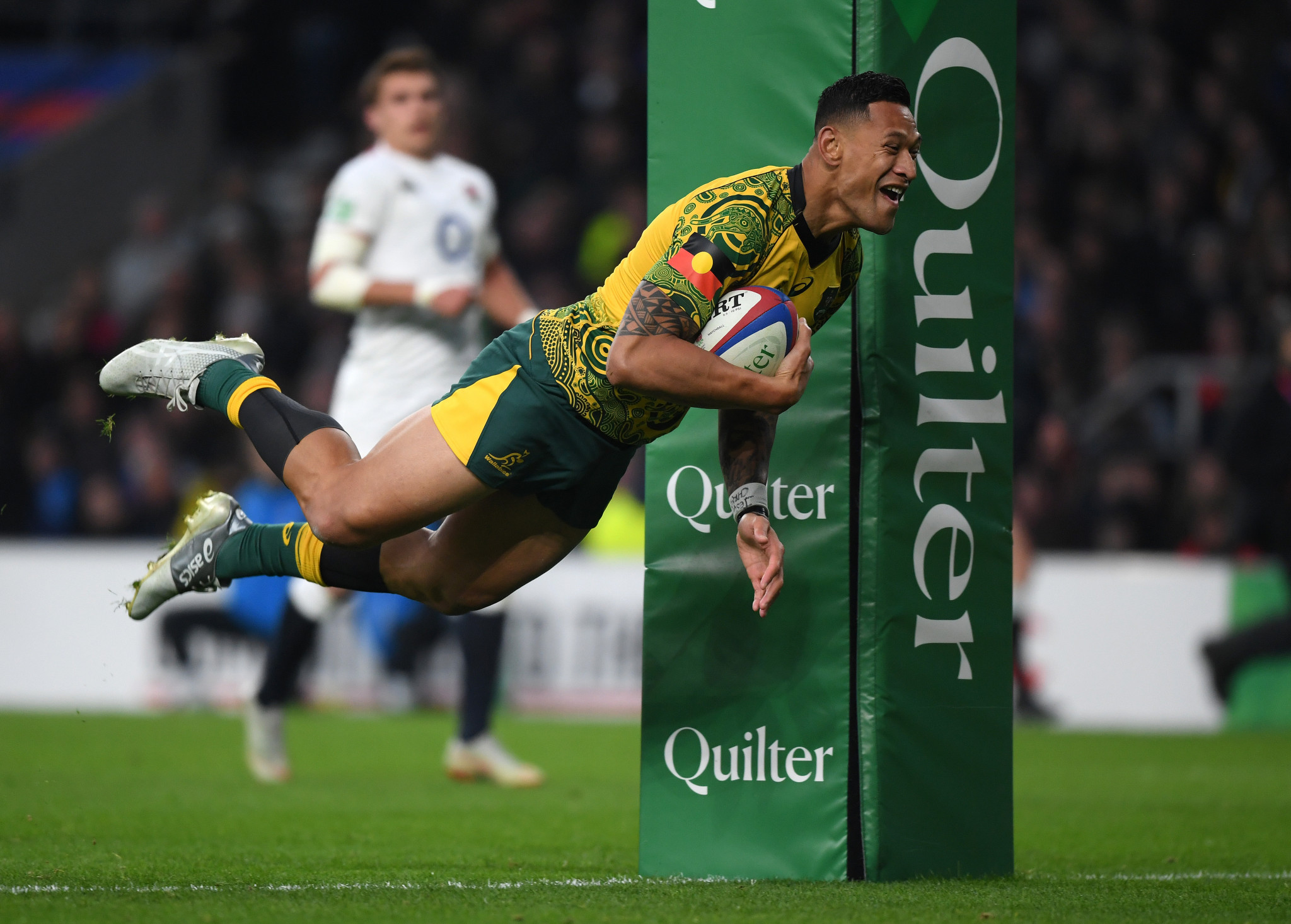 Israel Folau's career appears over after a three-person panel upheld the decision from Rugby Australia to sack the player ©Getty Images