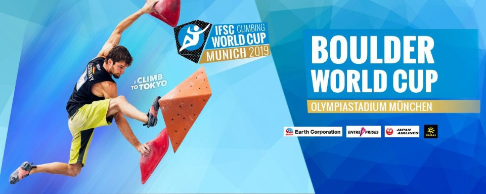 Munich will host the penultimate Bouldering World Cup of the season this weekend ©IFSC