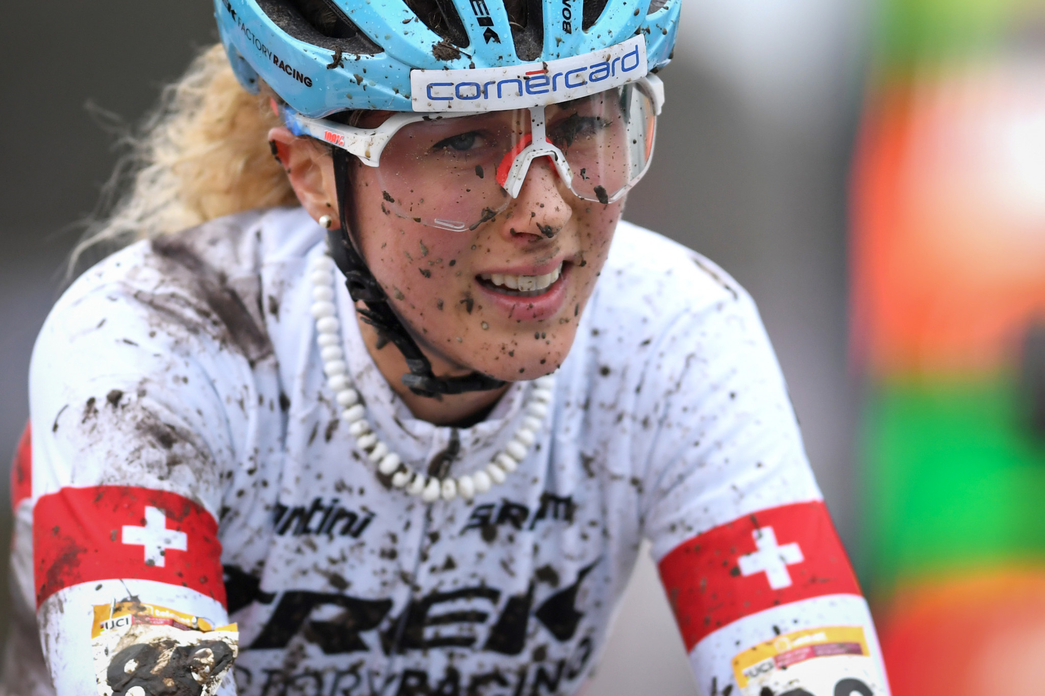 Jolanda Neff is the defending women's World Cup champion in the cross-country discipline ©Getty Images