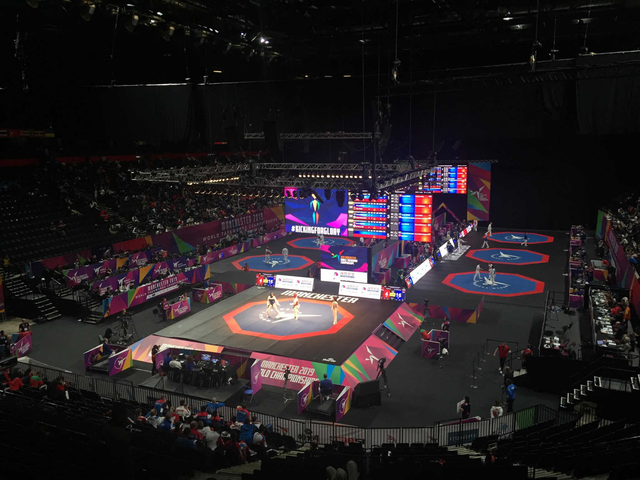 World Taekwondo Championships: Third day of action