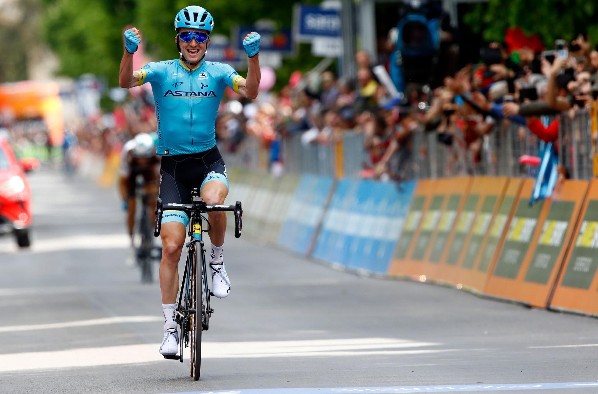 Bilbao wins stage seven of Giro d'Italia as Conti retains overall lead