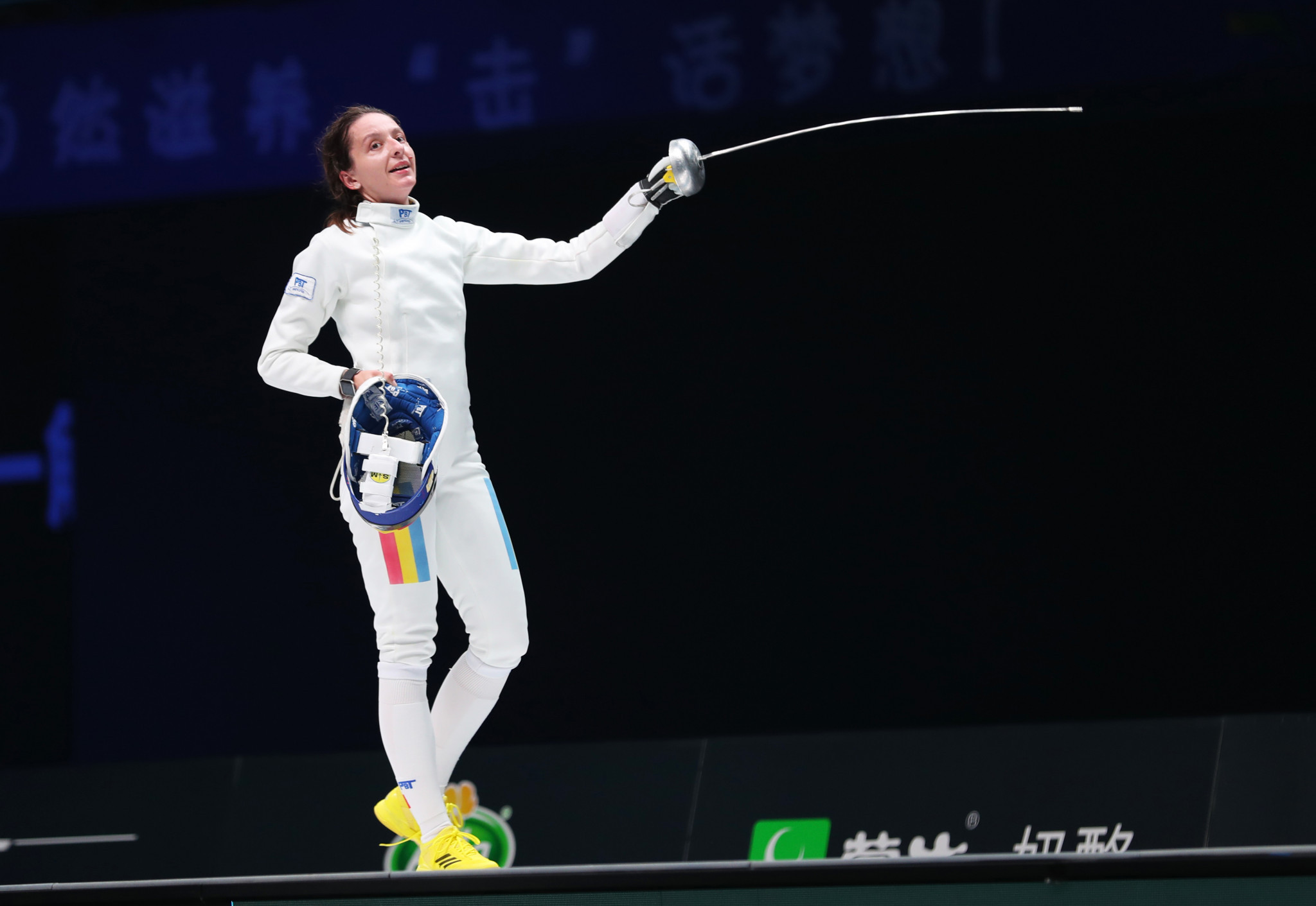 Top-ranked Ana Maria Popescu of Romania will face France's Océane Tahe in the last 64 of the FIE Women's Épée World Cup in Dubai ©Getty Images
