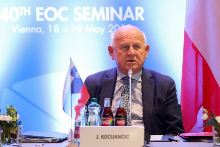 "EOC President Kocijančič aiming for European Games flag to go ""from hand to hand"" between Minsk and 2023 hosts"