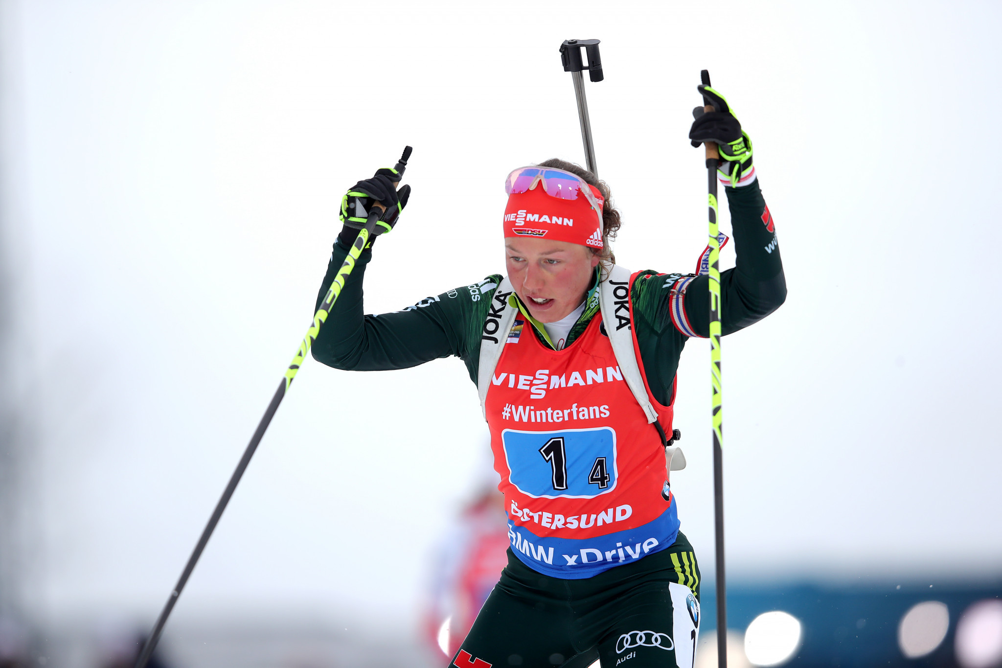 Laura Dahlmeier has decided to call time on her biathlon career ©Getty Images