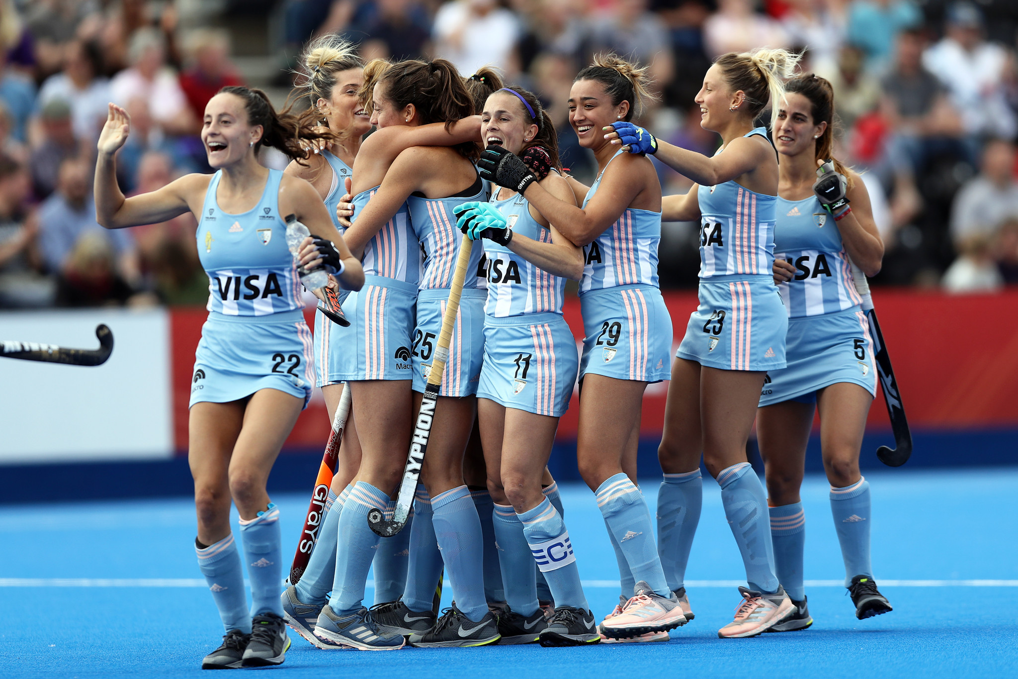 Argentina earn shootout victory over Britain in women's FIH Pro League