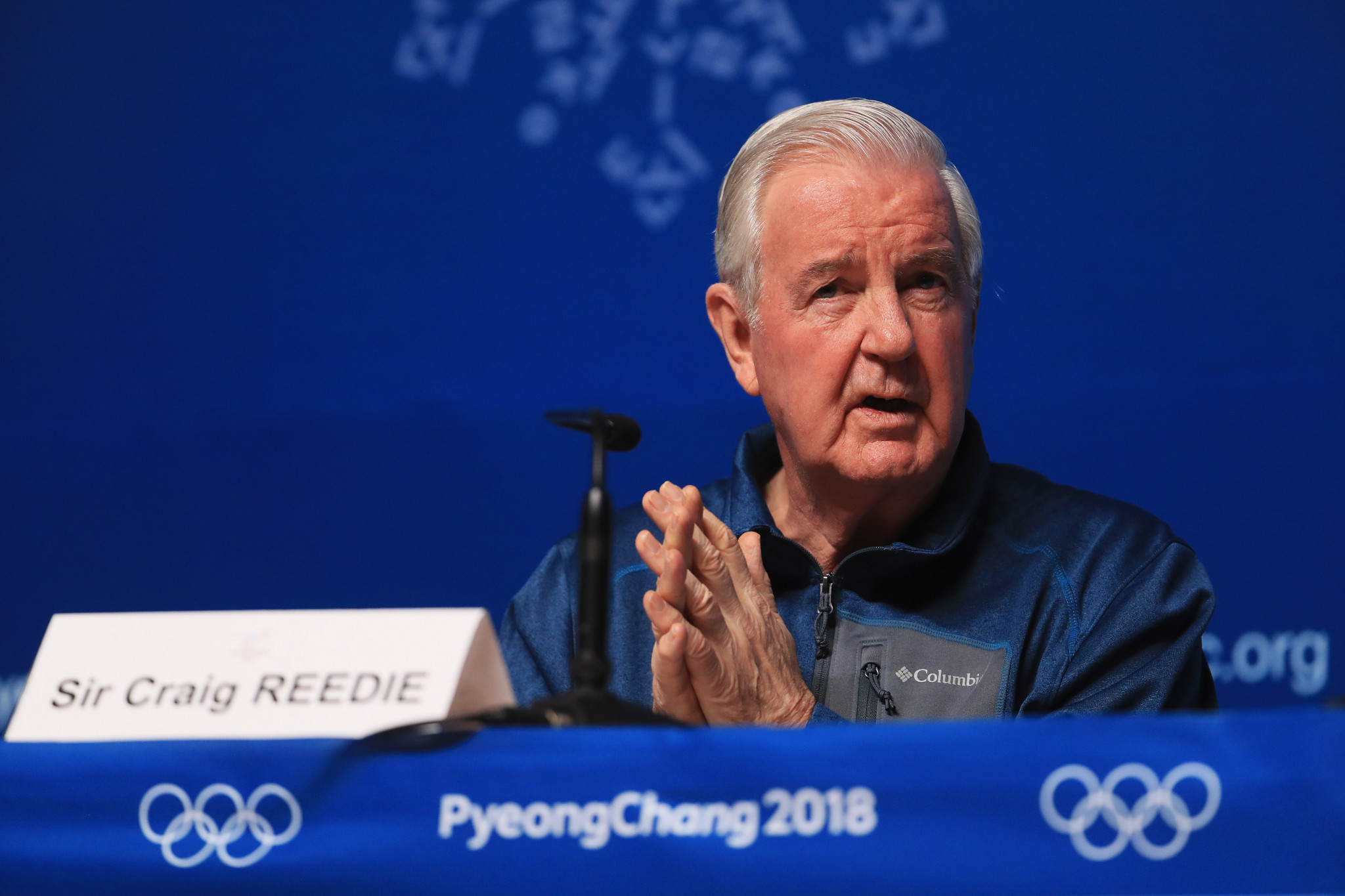 Sir Craig Reedie is set to be replaced by Witold Bańka ©Getty Images