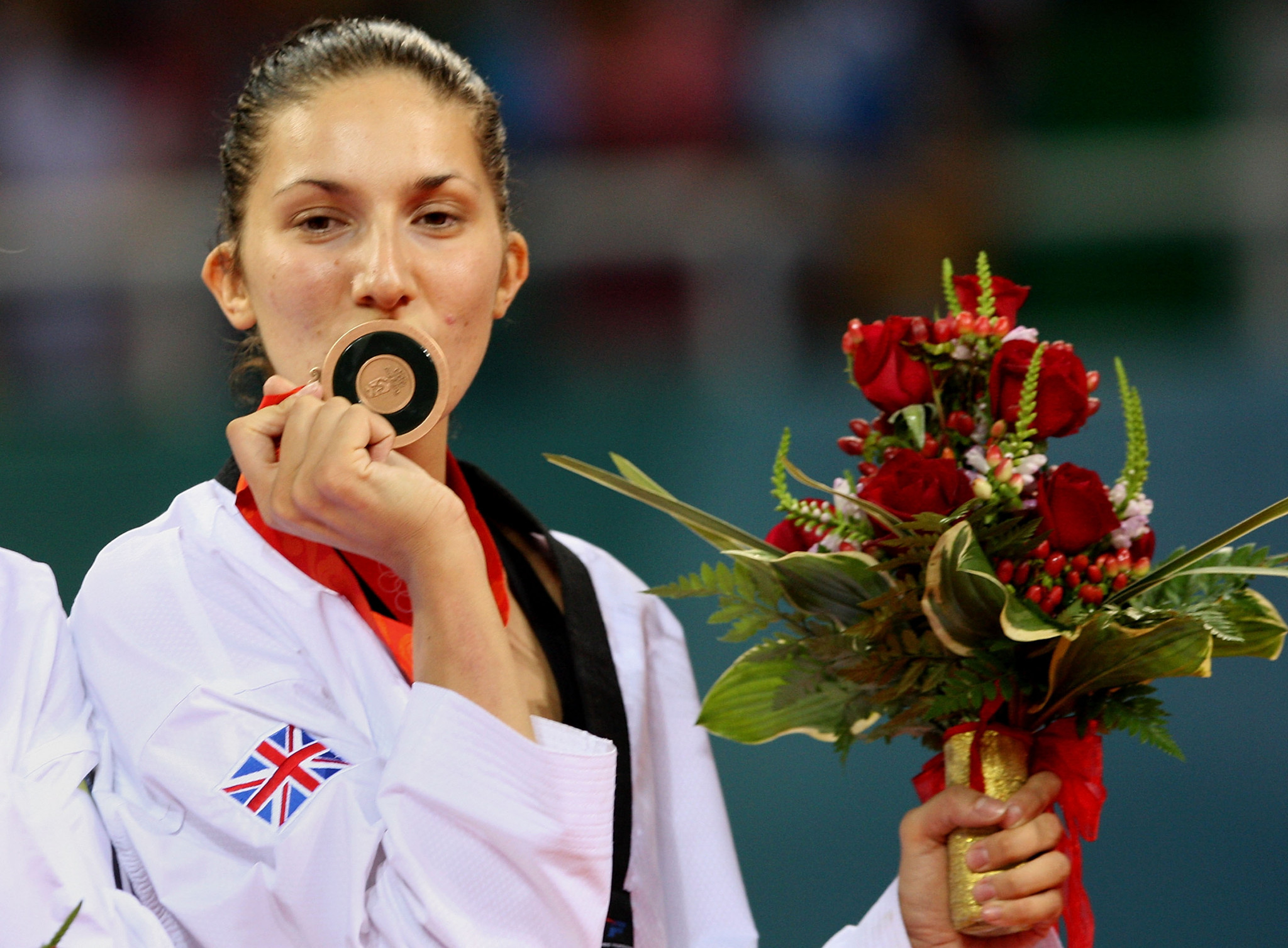 British Taekwondo President Sarah Stevenson won her country's first Olympic medal in taekwondo at Beijing 2008 ©Getty Images