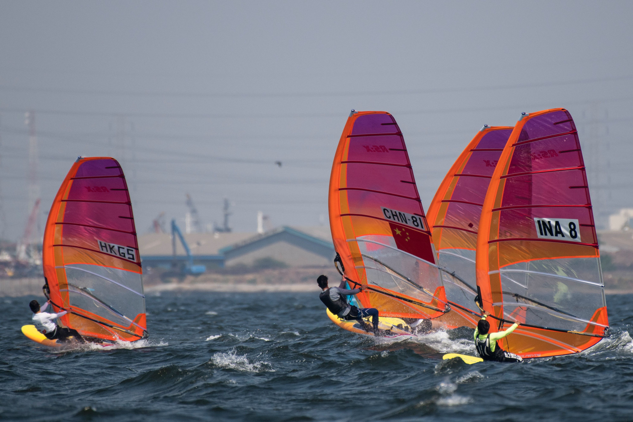 The RS:X could be replaced as the windsurfing equipment for Paris 2024 ©Getty Images