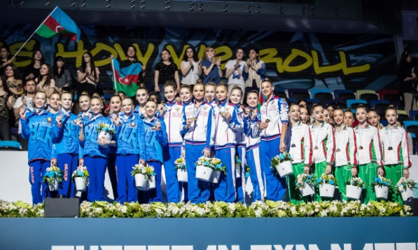 Russia clinch team title at Rhythmic Gymnastics European Championships