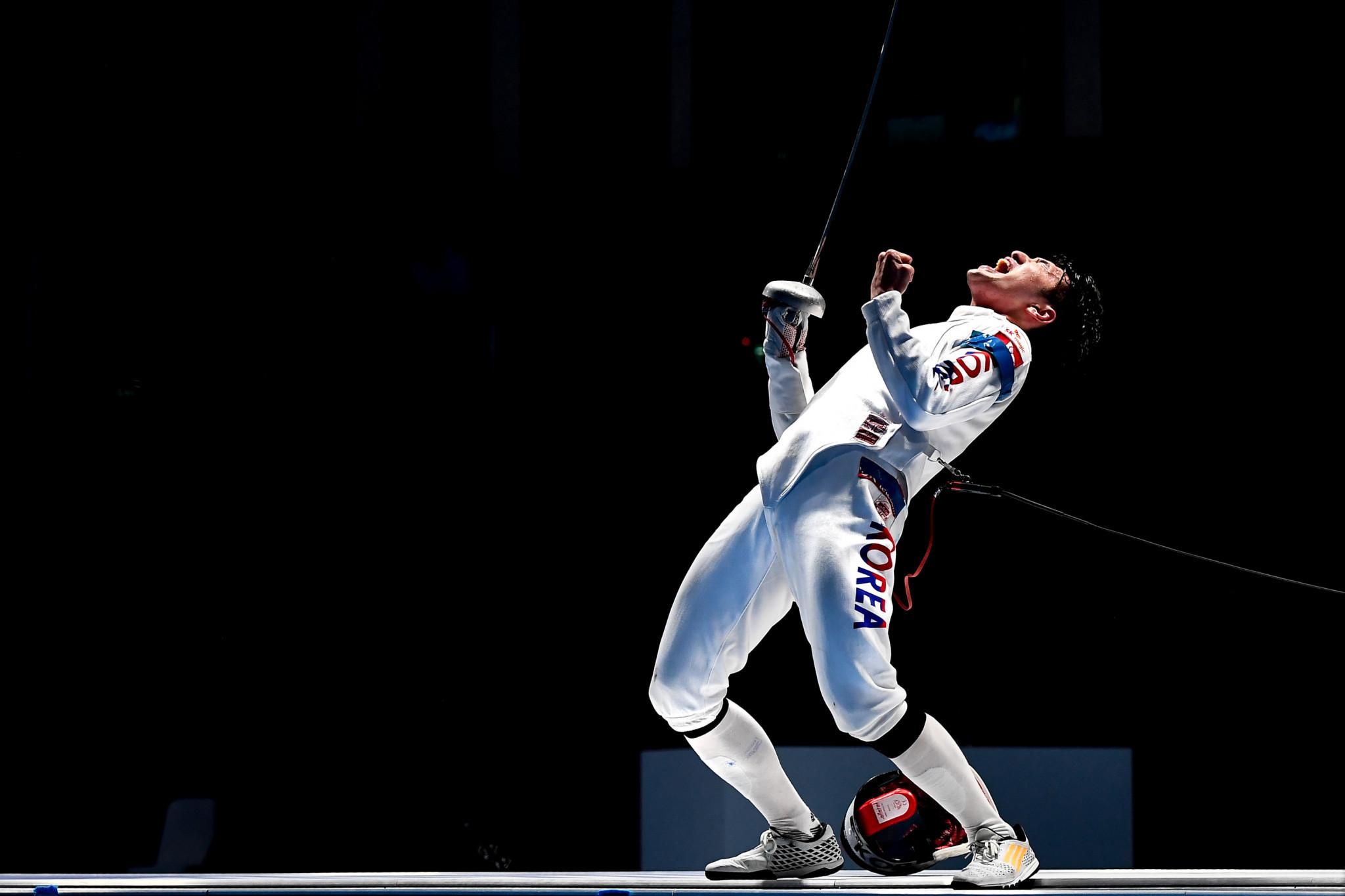 Olympic champion Park triumphs at FIE Men's Épée World Cup