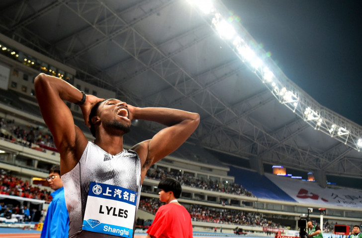 Mcleod Tearful After 4th Straight Victory At Shanghai: Samba Wins First 400m Hurdles Meeting With Benjamin In
