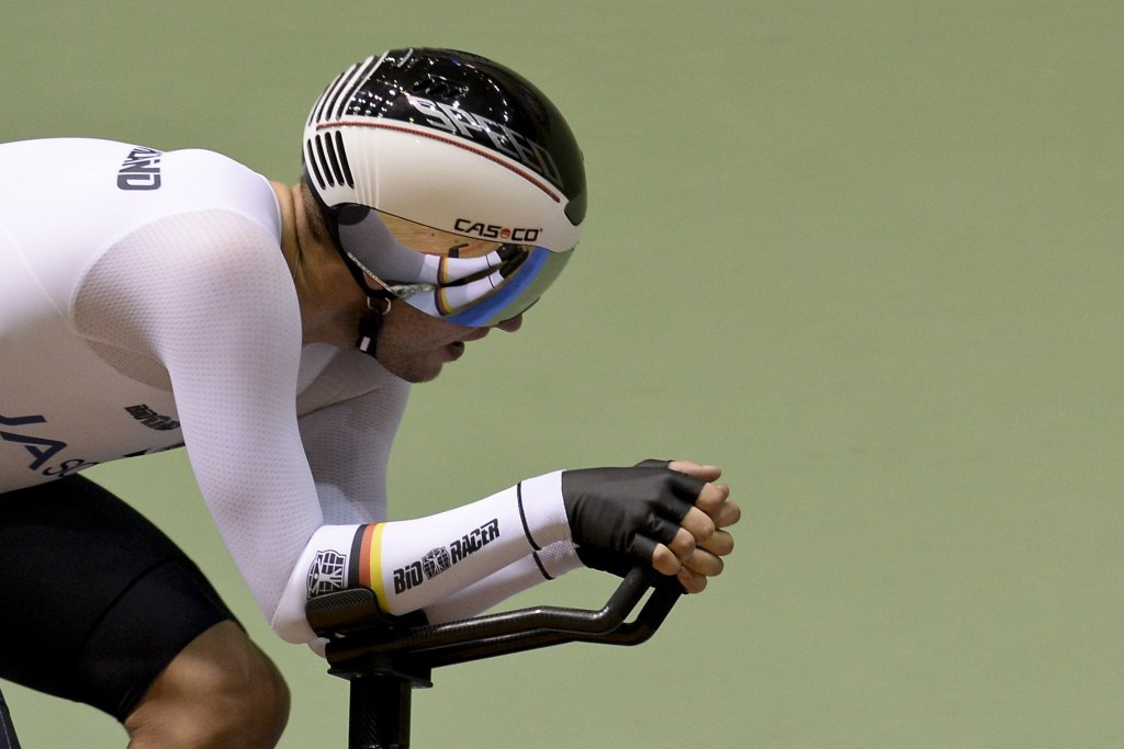 Germany's Domenic Weinstein claimed gold in the men's individual pursuit