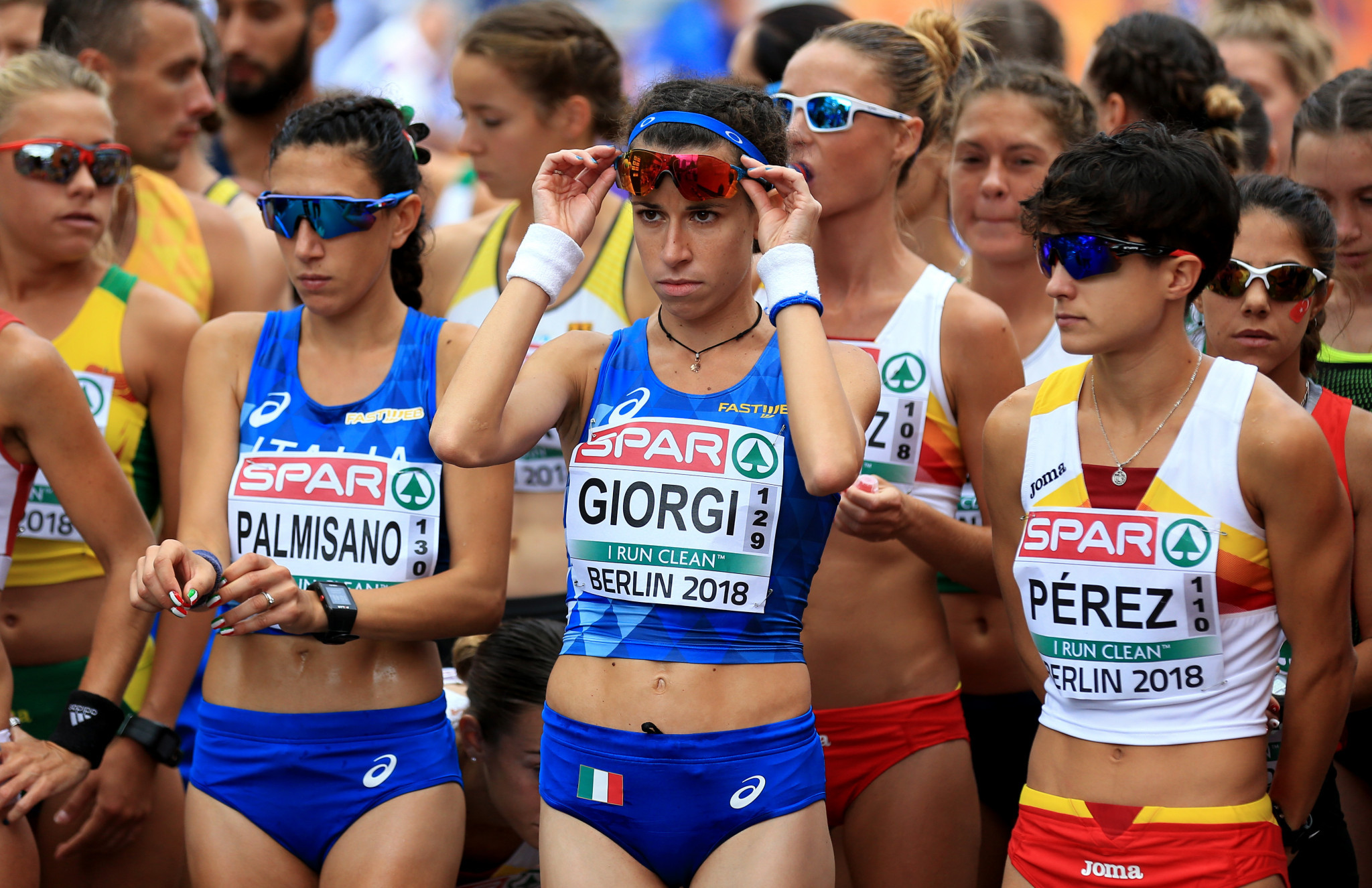 Italy's Eleonora Giorgi has her eyes on a 50km victory at the European Race Walking Cup in Lithuania tomorrow ©Getty Images