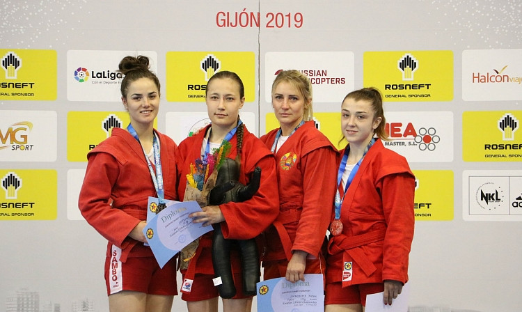 Russia claimed another six gold medals at the European Sambo Championships ©FIAS