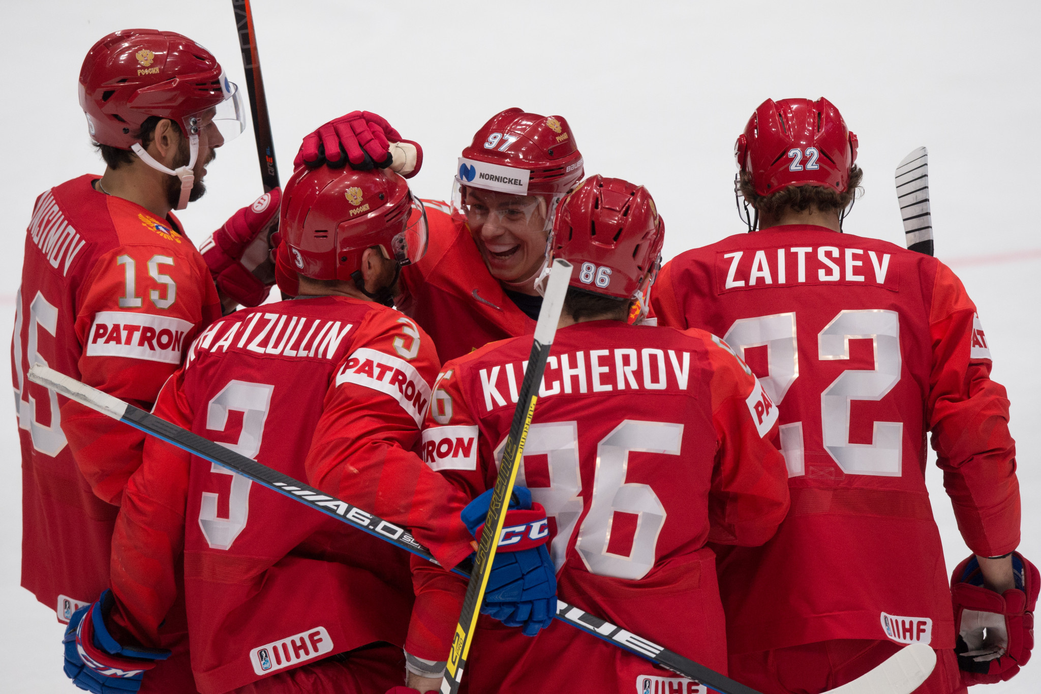 Russia win again to hit Latvia's hopes at IIHF World Championship