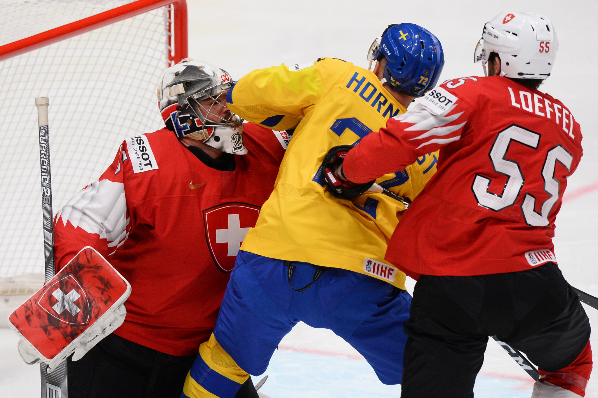 Sweden and Switzerland clashed in Group B ©Getty Images
