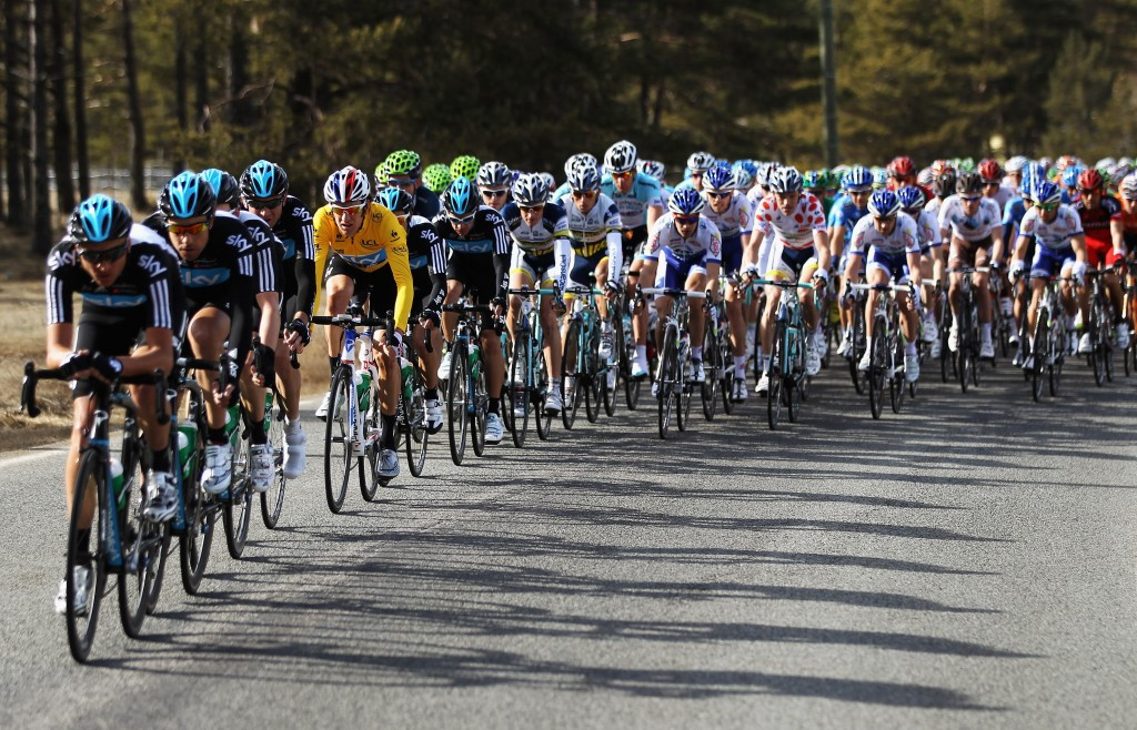 Team Sky have prioritised consistent pace over sudden bursts in recent cycling stage-races ©Getty Images