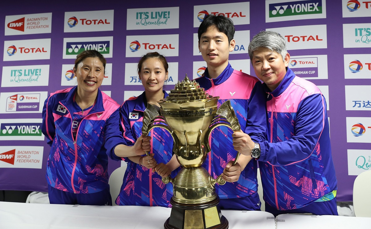 Injuries have diminished South Korea's chances of making a successful defence of the Sudirman Cup when competition starts in Nanning, China tomorrow ©BWF