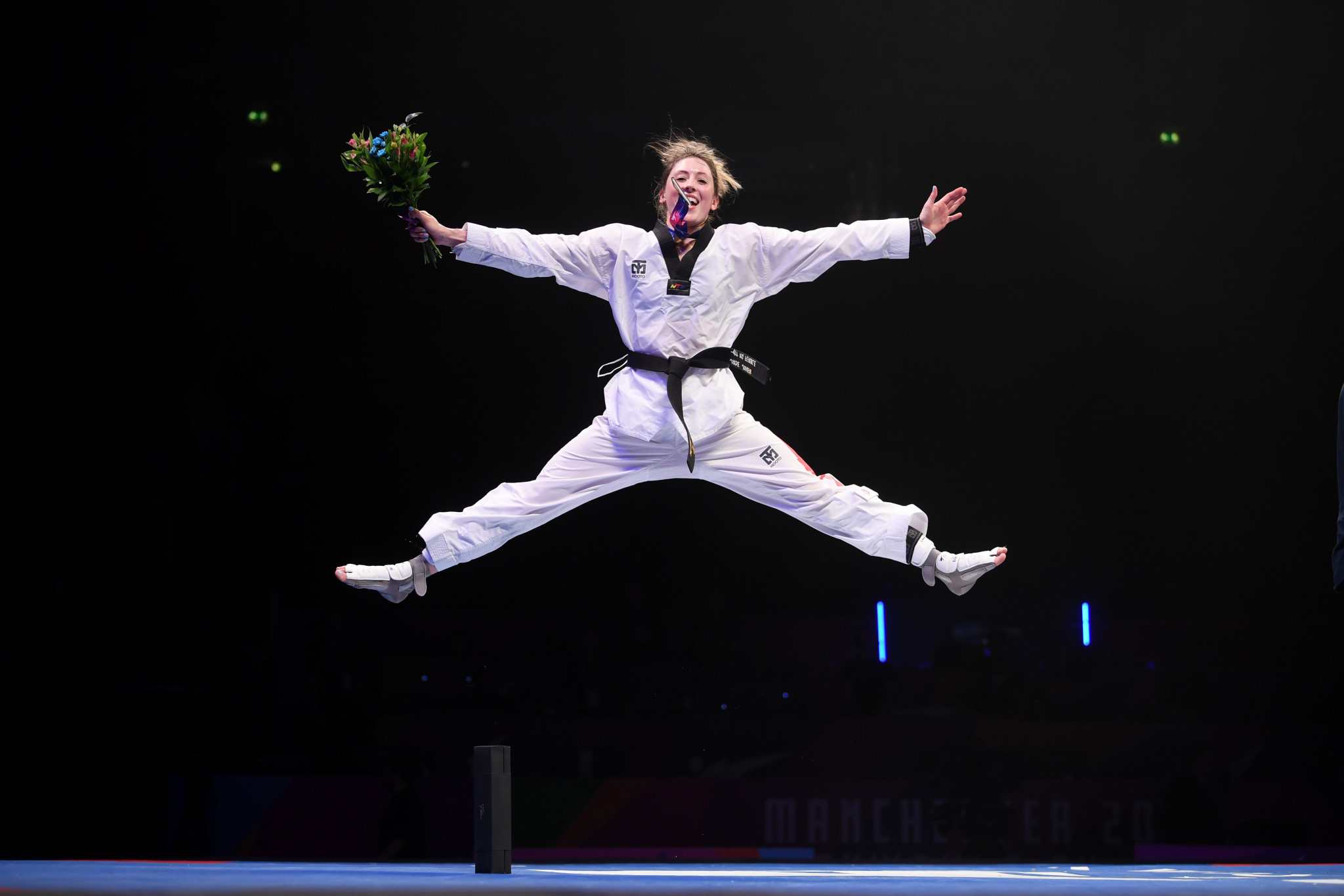 Two-time Olympic champion Jones ends wait for title at World Taekwondo Championships