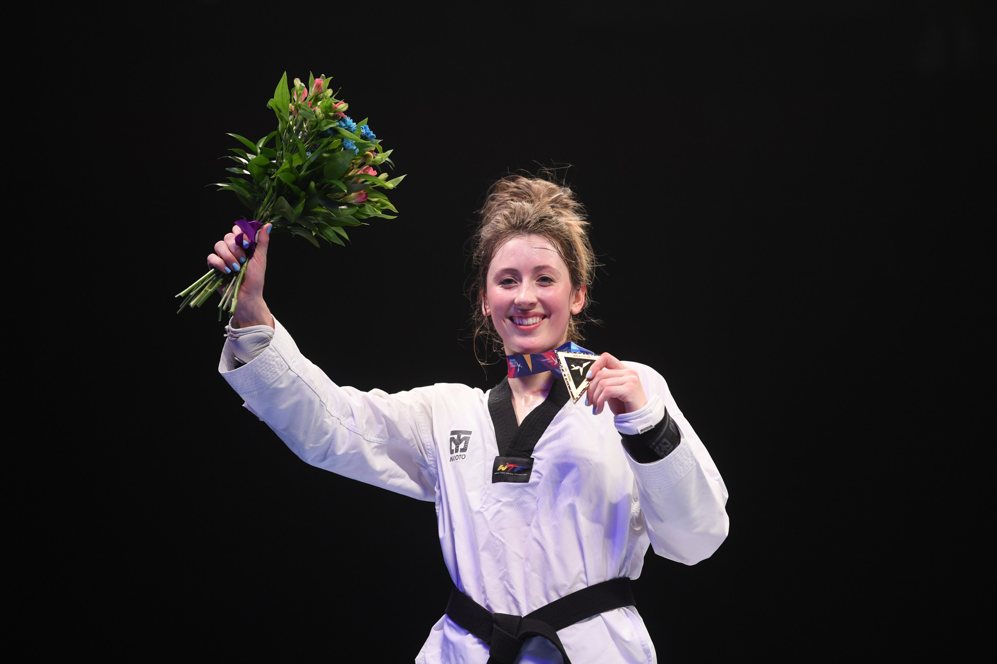 Jade Jones increased to three Britain's gold medal tally ©Getty Images