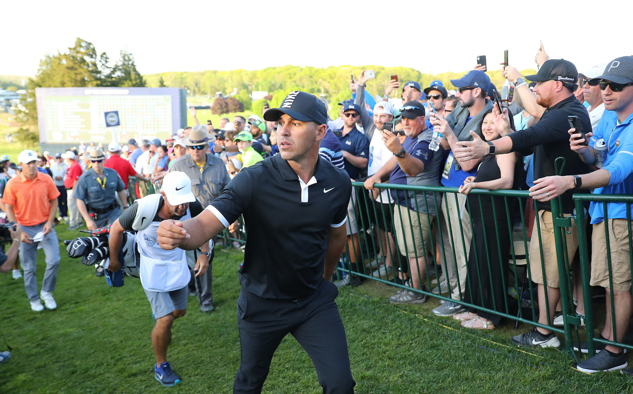 Koepka closes in on US PGA Championship title after maintaining huge lead