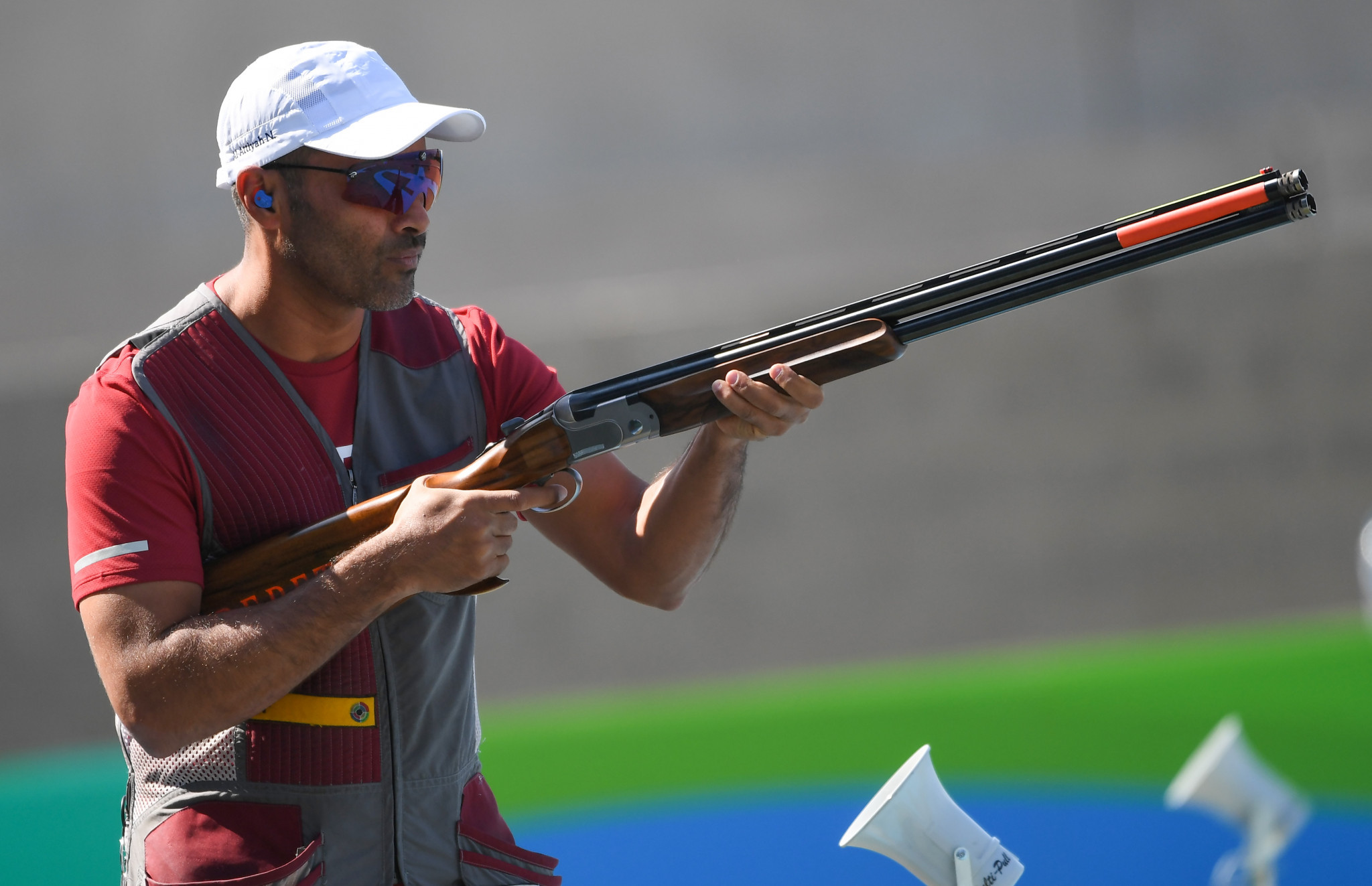 Nasser Al-Attiyah has competed in shooting at the past six Olympic Games ©Getty Images