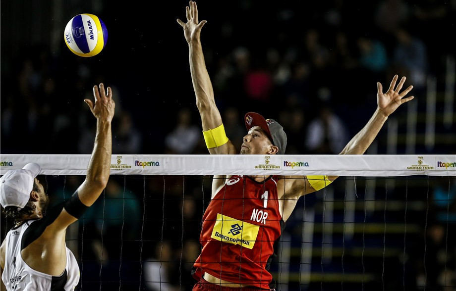 Norwegians earn chance to turn silver into gold at FIVB Itapema Open