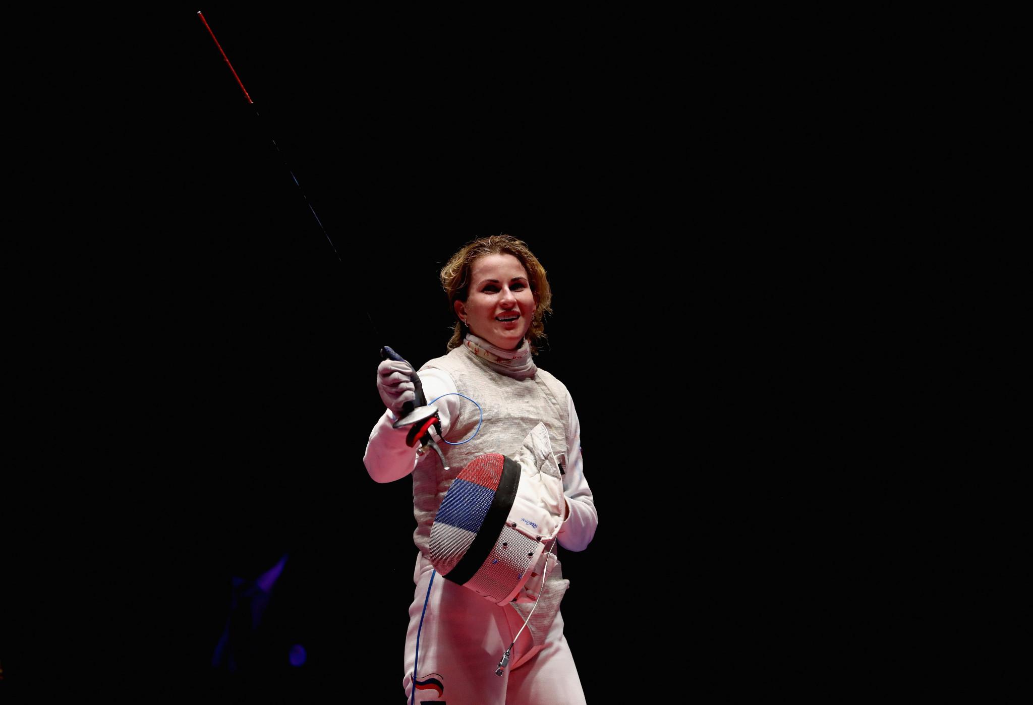 Deriglazova and Foconi win FIE Grand Prix titles in Shanghai