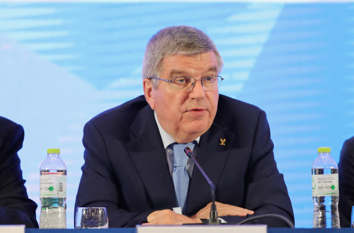 IOC President Thomas Bach has warned against the