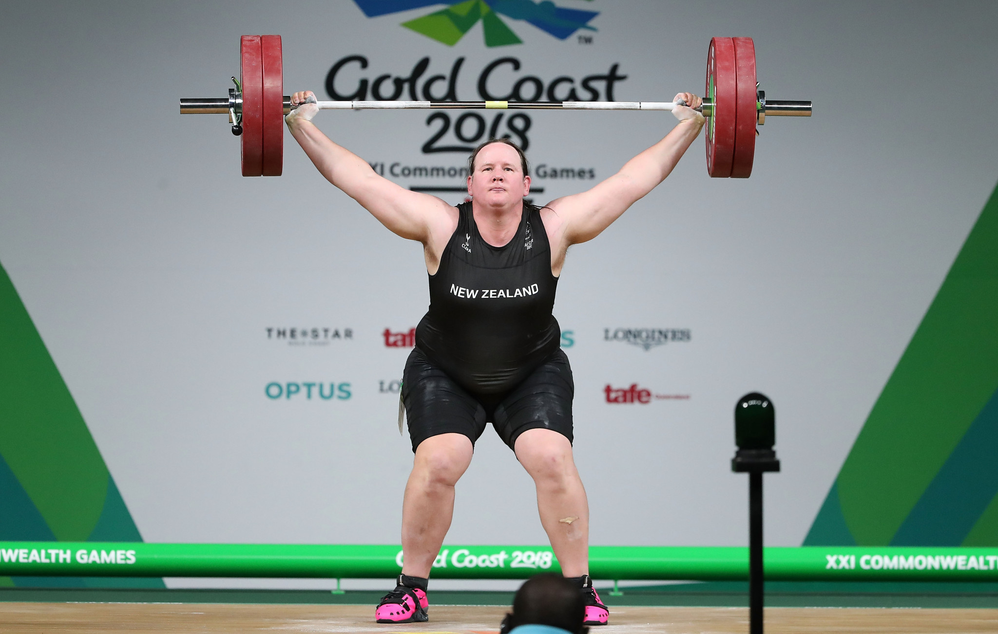 Laurel Hubbard has divided opinion in weightlifting ©Getty Images