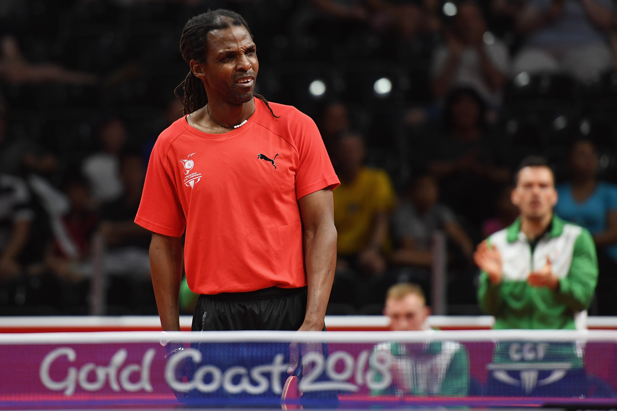 Dexter St Louis appeared at Gold Coast 2018 after a legal battle with the national governing body ©Getty Images