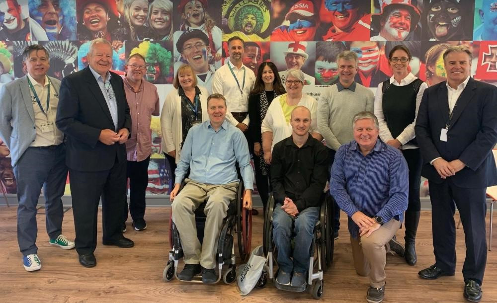 World Rugby and International Wheelchair Rugby Federation hold summit in Dublin