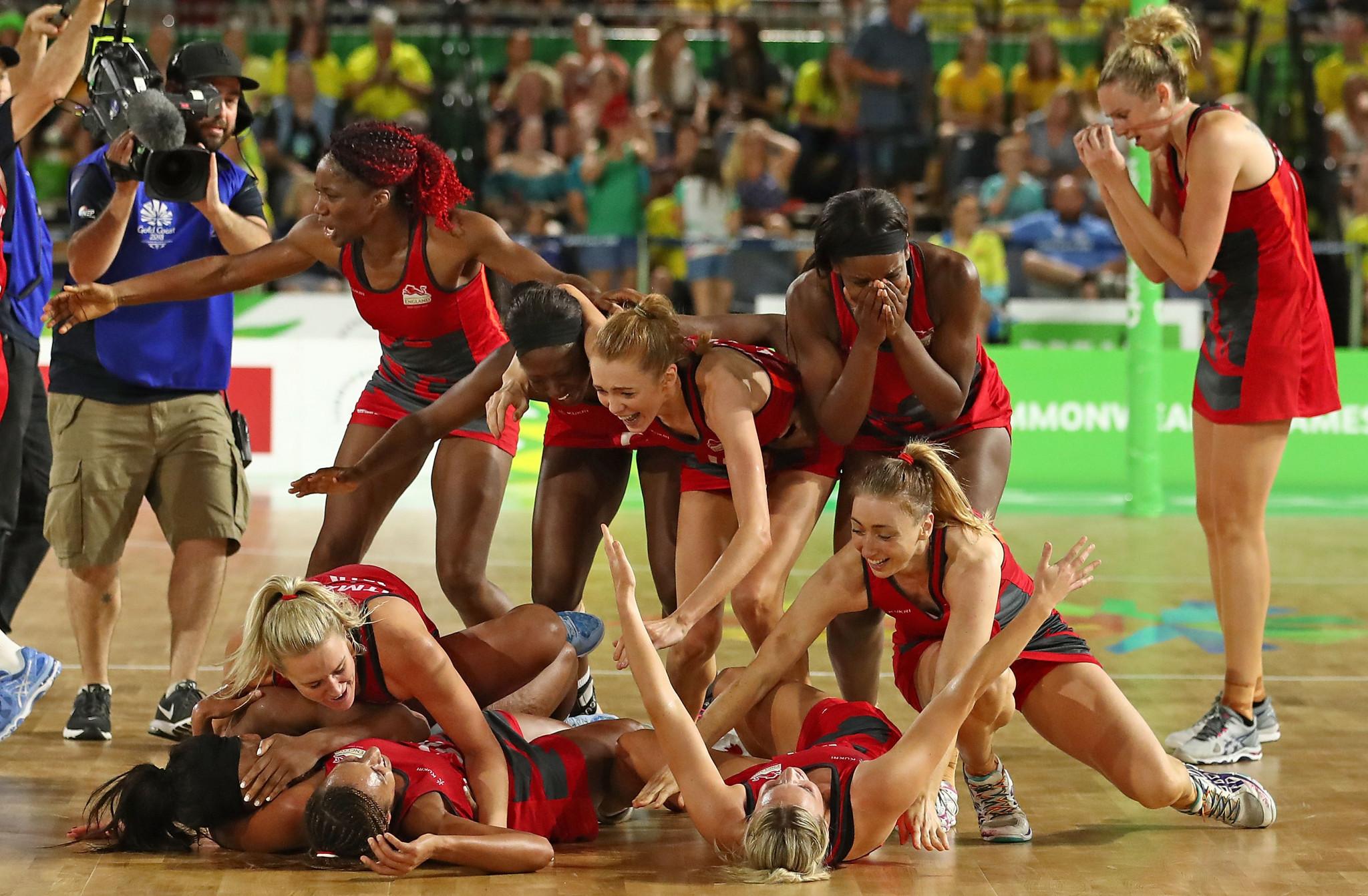 England's last-gasp Commonwealth Games gold was one of the moments of Gold Coast 2018 ©Getty Images