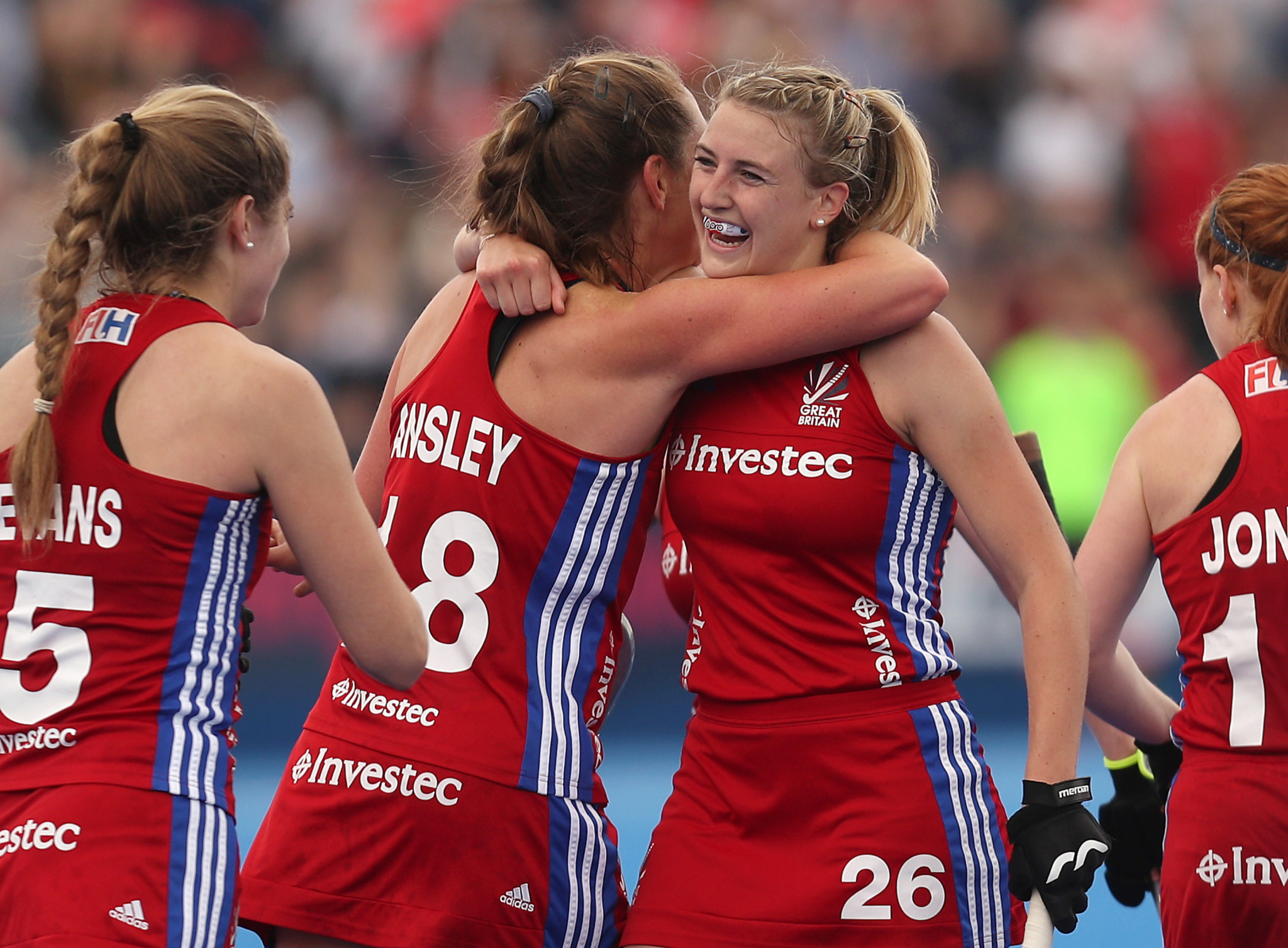 Lily Owsley was on target for Great Britain ©Getty Images