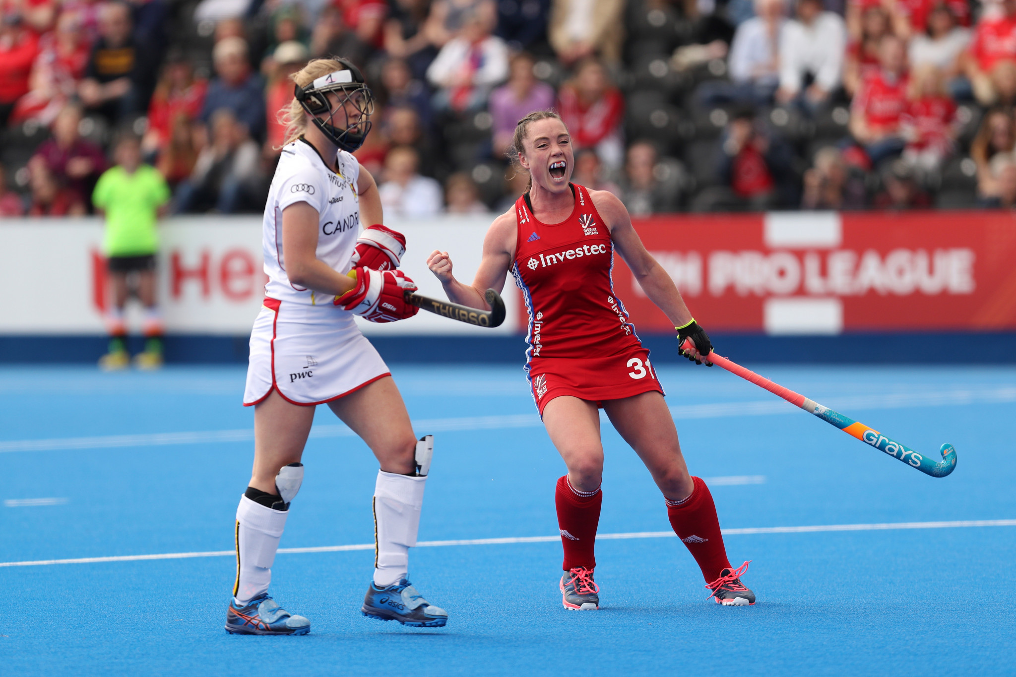 Great Britain women claim much-needed victory over Belgium in FIH Pro League