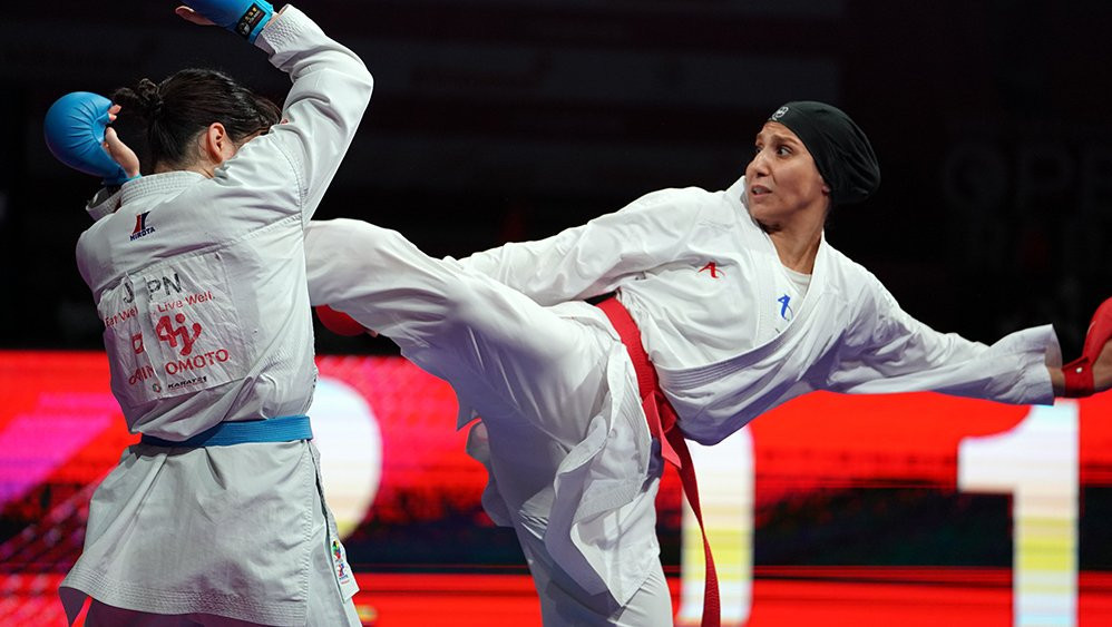 Özçelik maintains dominant run with under-50kg triumph at home Karate 1-Series A in Istanbul
