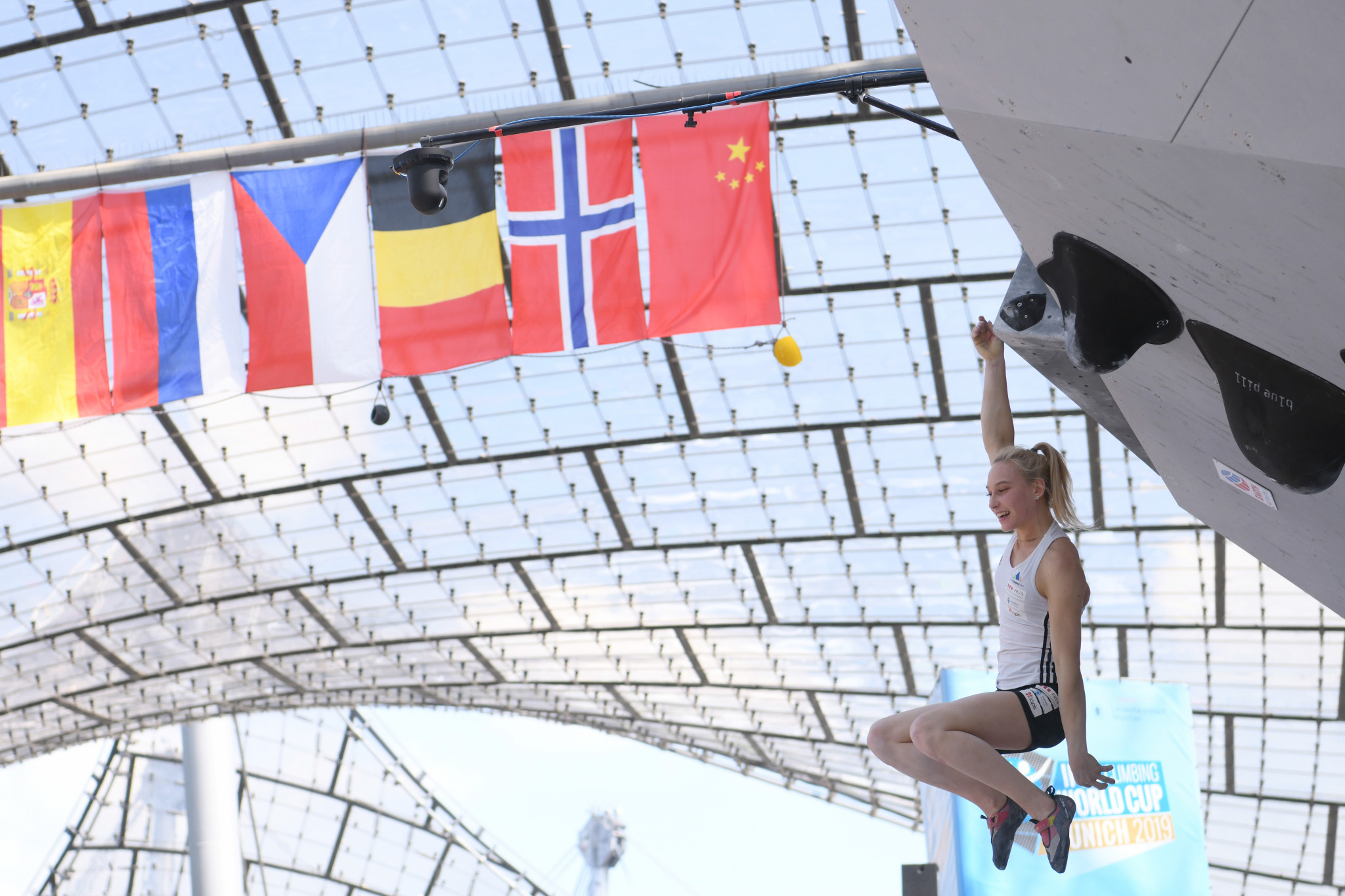 Five-star Garnbret maintains perfect start to season at IFSC Bouldering World Cup
