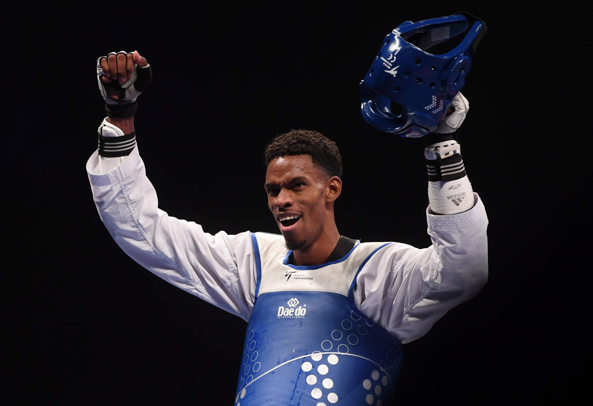 Cuba's Rafael Alba won his first men's under over-87kg world title ©Getty Images