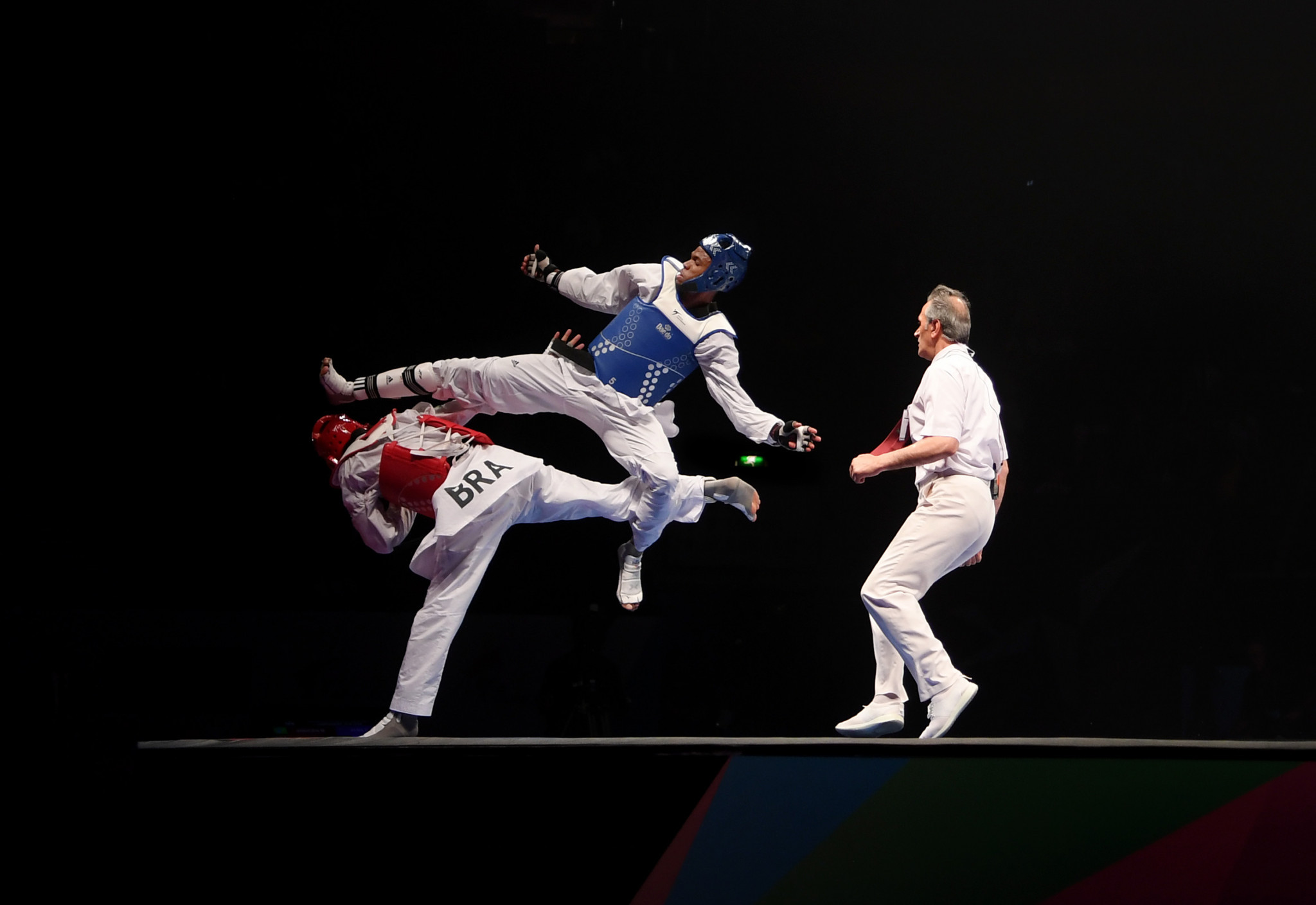He defeated Mexico's Carlos Sansores in the gold medal bout ©Getty Images