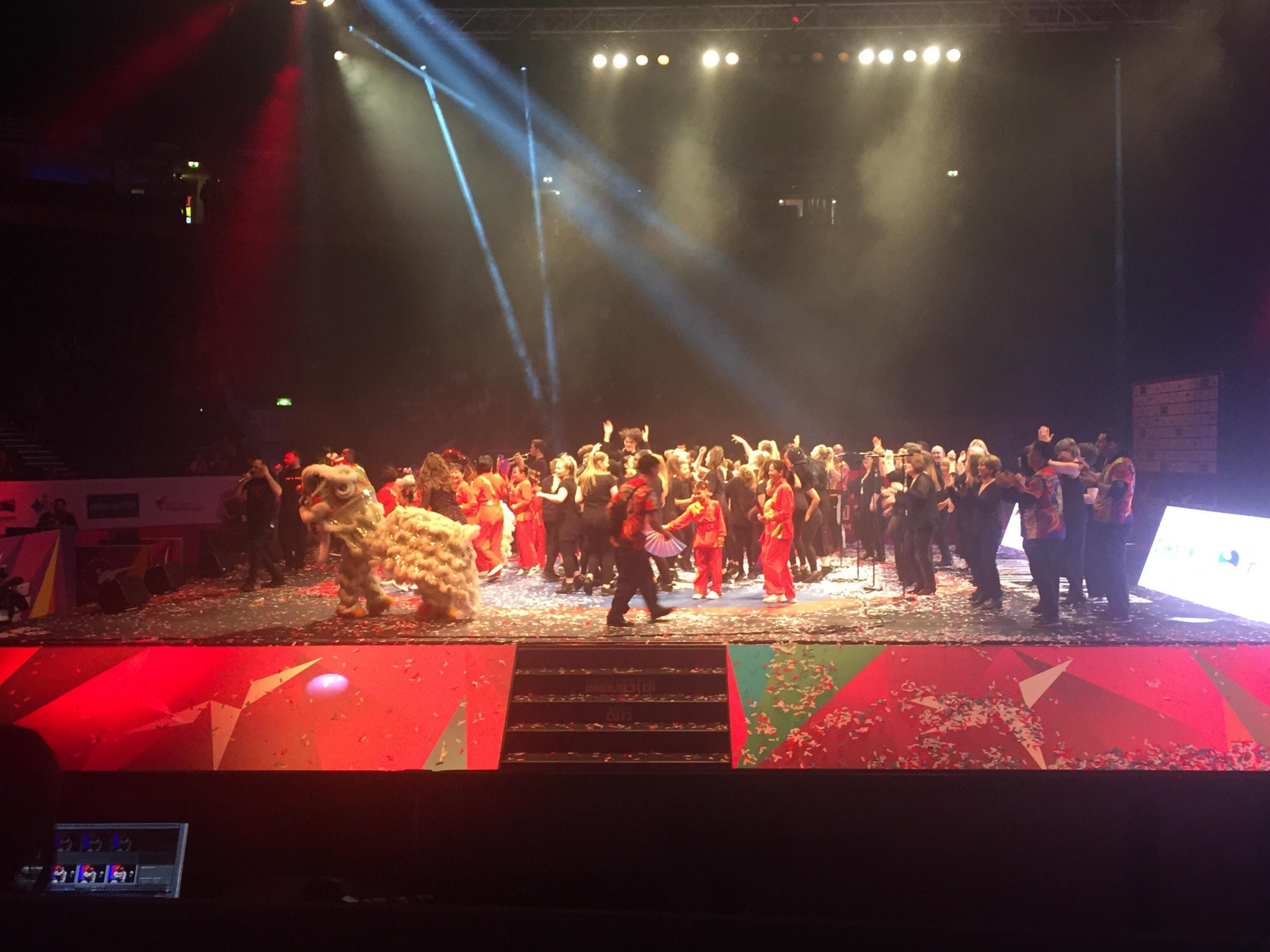 Closing Ceremony marks the end of the World Taekwondo Championships in Manchester
