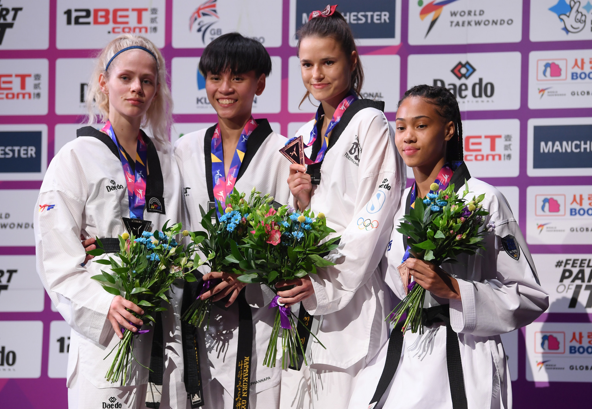Thailand's Phannapa Harnsujin took gold in the women's under-53kg ©Getty Images