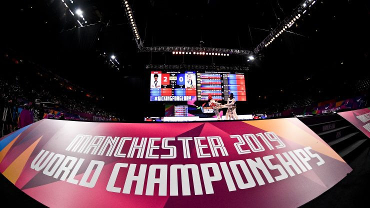 Today's action concluded the 2019 World Taekwondo Championships at Manchester Arena ©Twitter