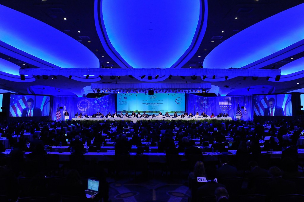 The agreement was signed during the ANOC General Assembly in Washington
