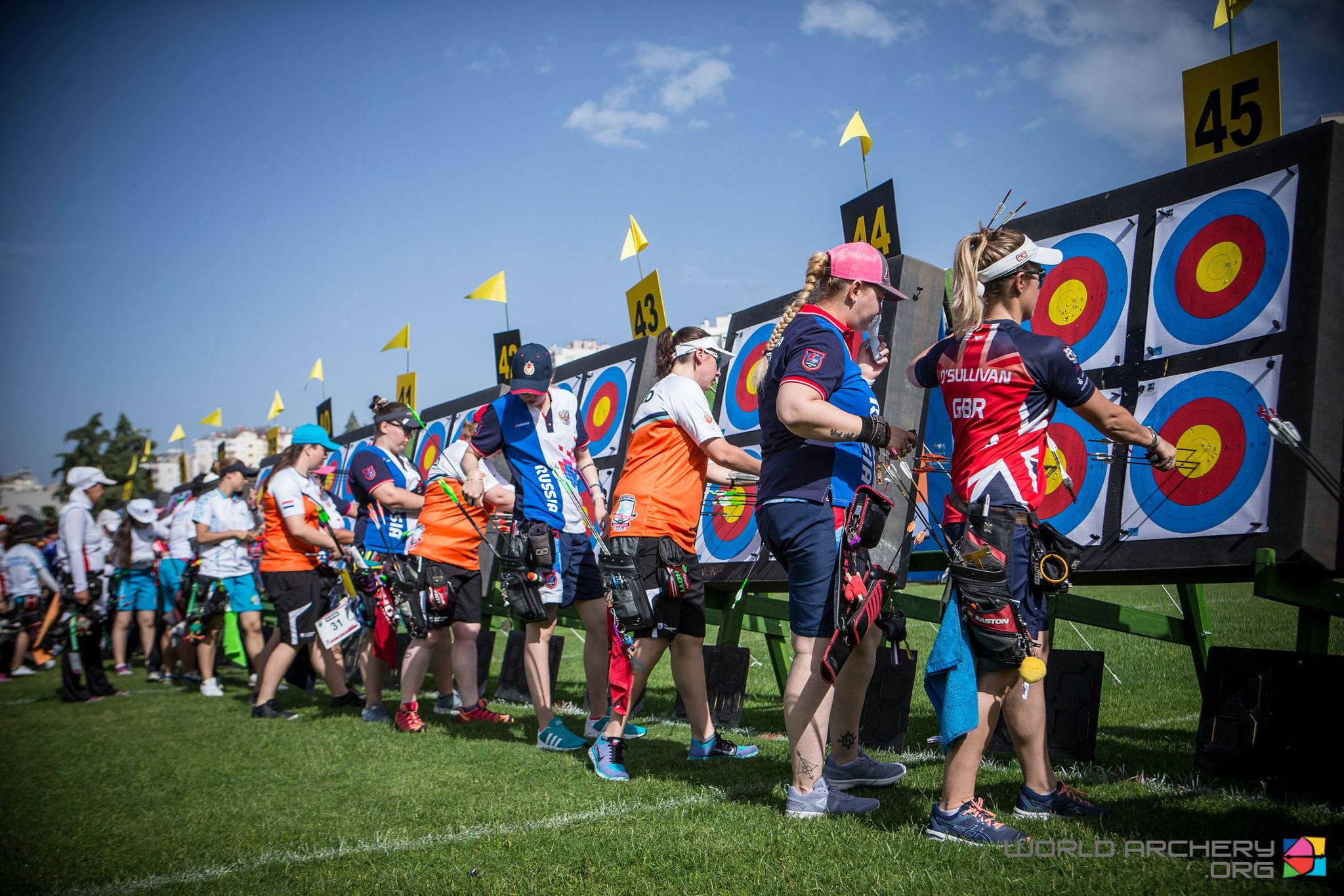 A total of 383 athletes from 54 countries will take part in the third leg of the Archery World Cup that starts in Antalya, Turkey tomorrow ©World Archery