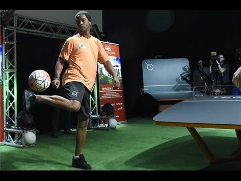 A partnership between Ronaldinho and FITEQ was announced earlier this year ©Sal 2019
