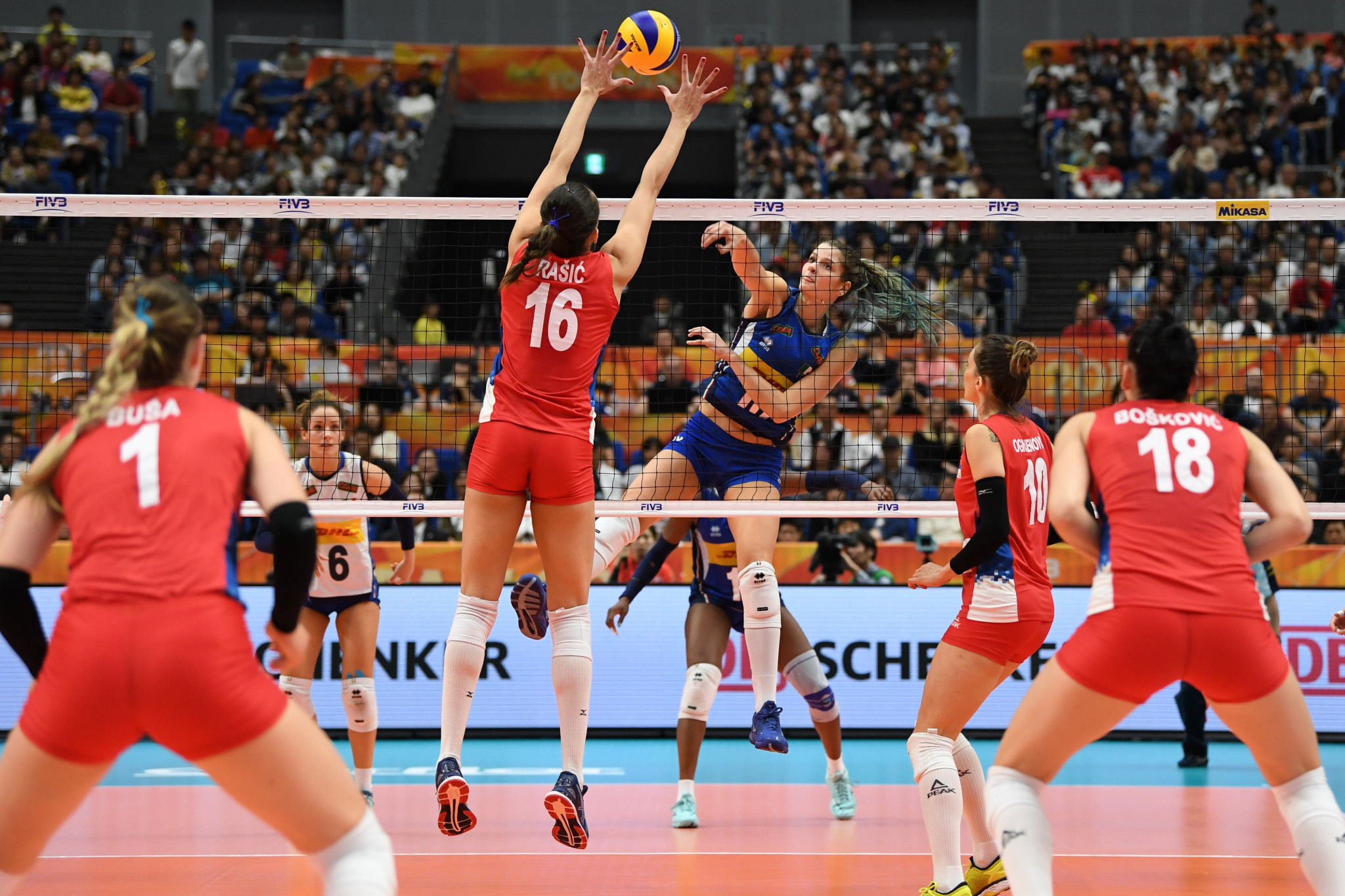 Sixteen teams set to compete in second FIVB Volleyball Nations League