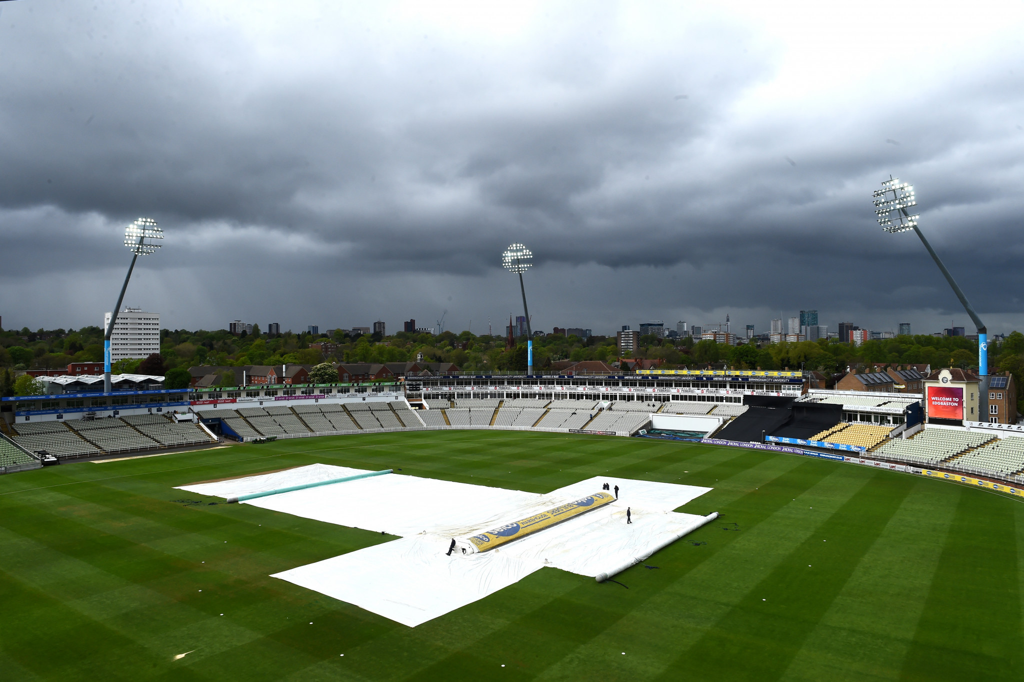 Edgbaston in Birmingham will host some of the ICC Men's Cricket World Cup ©Getty Images