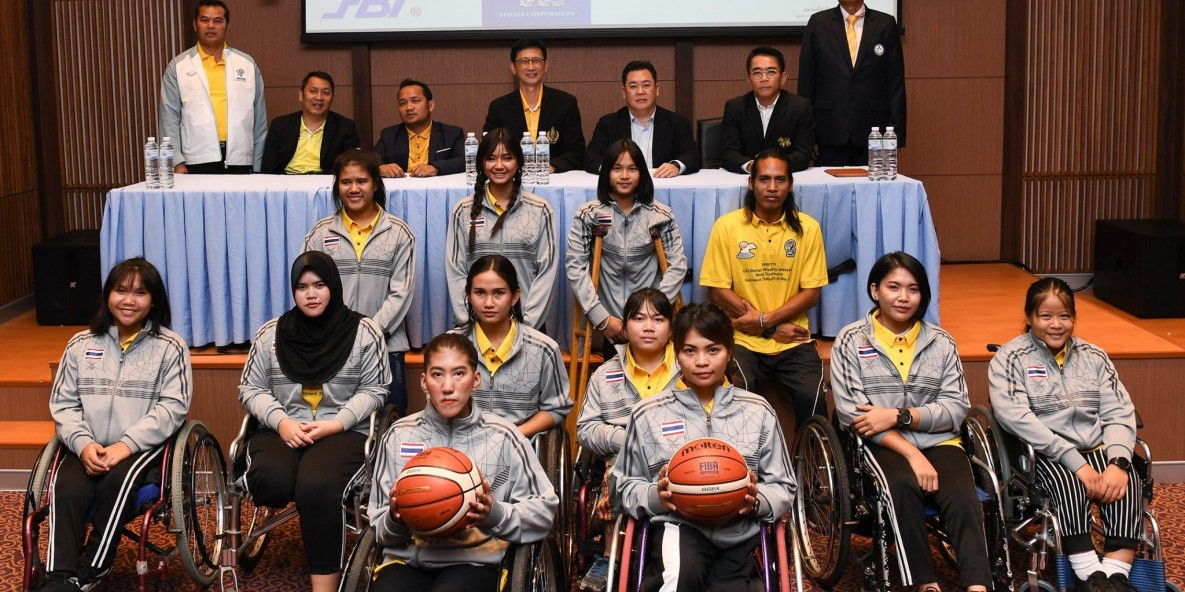 Fourteen-year-old among those named in Thailand squad for IWBF Women's Under-25 World Championships